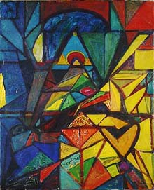 Hoelzel was among the pioneers of abstraction